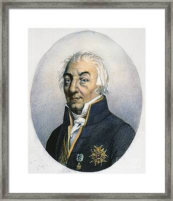 Claude Louis Berthollet Framed Print by Granger