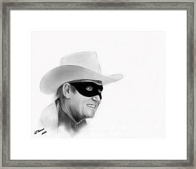 Clayton Moore Framed Print
