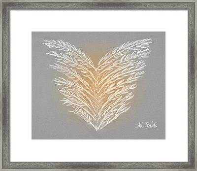 Clean Heart Version 2 Framed Print by Ani Todd Smith