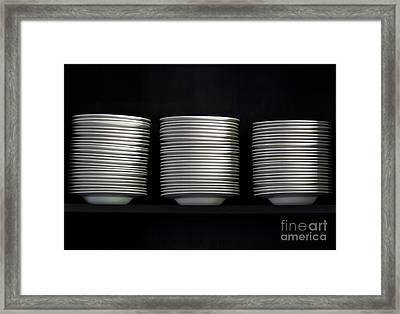Clean White No.2 Framed Print by Chavalit Kamolthamanon