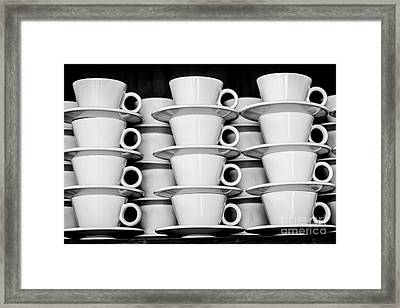 Clean White No.3 Framed Print by Chavalit Kamolthamanon