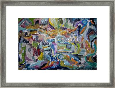 Cleansing Of The Mind Framed Print by Timothy  Foley