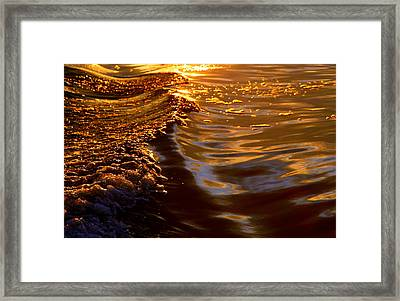Cleansing The Soul Framed Print by Karen Wiles