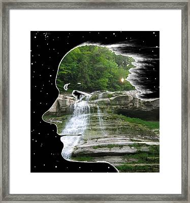 Cleansing Framed Print by Tony Murray