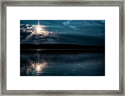 Clear Blue Framed Print by Gary Smith
