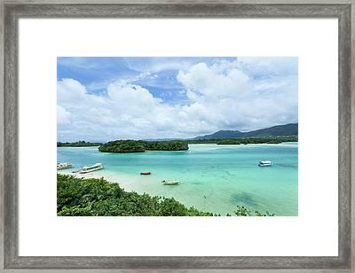 Clear Tropical Lagoon, Ishigaki Island, Okinawa Framed Print by Ippei Naoi