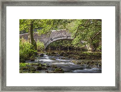 Clearbrook River Meavy Framed Print by Donald Davis