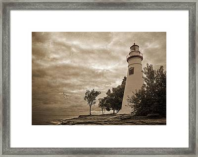 Clearing Storm Framed Print by Dale Kincaid