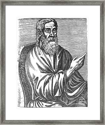 Clement Of Alexandria Framed Print