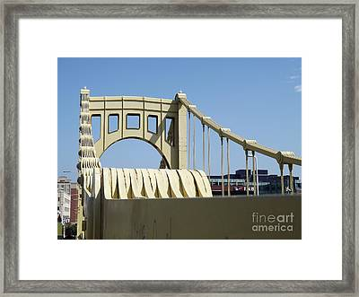 Clemente Bridge Framed Print by Chad Thompson