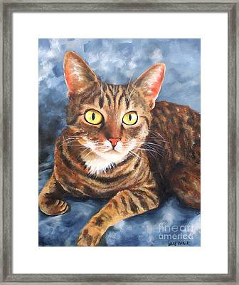 Cleo Framed Print