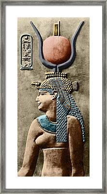Cleopatra Vii Framed Print by Sheila Terry