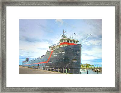 Cleveland Cliffs Framed Print by Robert Pearson
