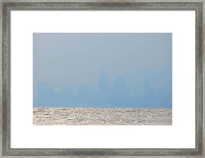 Cleveland Ohio Framed Print by Peter  McIntosh
