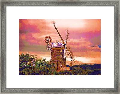 Cley Windmill 2 Framed Print by Chris Thaxter