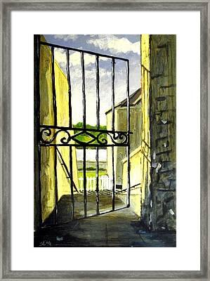 Clifden Gateway Co. Galway Framed Print