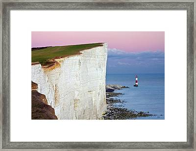 Cliff Framed Print by Paul Thompson