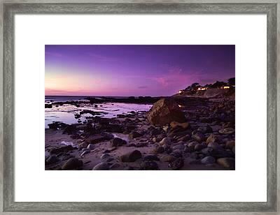 Cliff Side Dream Framed Print