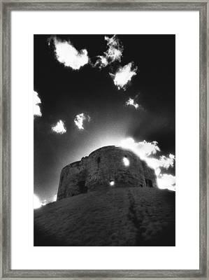 Cliffords Tower Framed Print by Simon Marsden