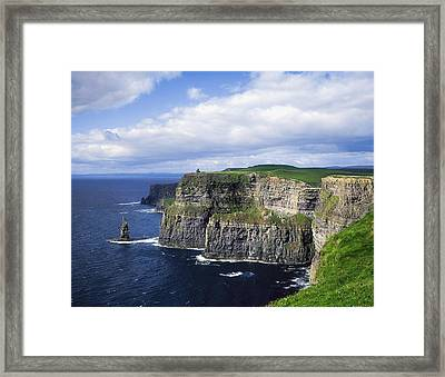 Cliffs Of Moher, Co Clare, Ireland Framed Print