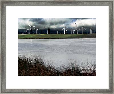 Climate Changed Storm Framed Print
