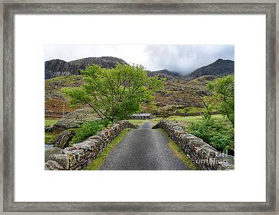 Climbers Lodge Framed Print by Adrian Evans