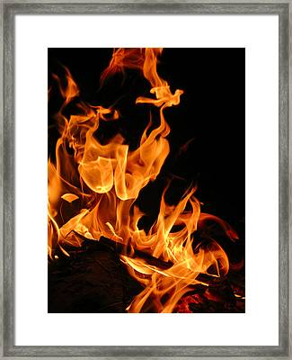 Cloaked Figure Framed Print