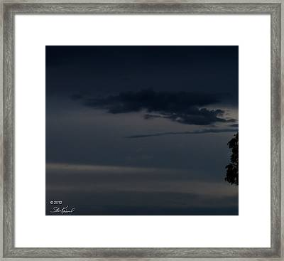 Cloaking Up The Enterprise Framed Print by Steve Knievel