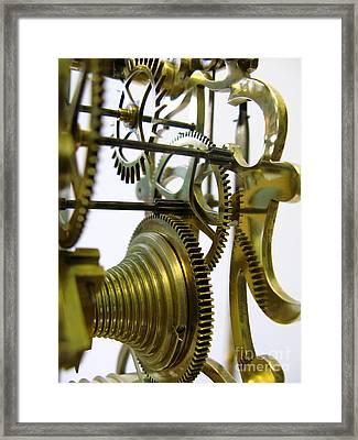 Clockwork Framed Print by John Chatterley
