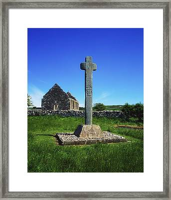 Cloncra Church, Inishowen Peninsula Framed Print by The Irish Image Collection