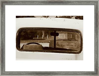 Close Call Framed Print