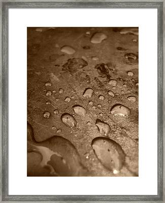 Close Caption Water Framed Print by Beto Machado