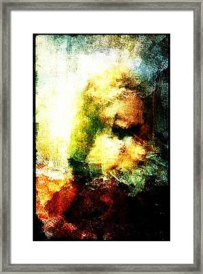 Framed Print featuring the digital art Close Friends by Andrea Barbieri