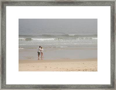 Close To You - Jersey Shore Framed Print by Angie Tirado