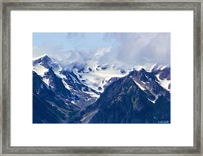 Close Up Glacier View Framed Print