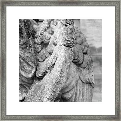 Close Up Of Wing Of Statue, Germany Framed Print by This Is About My Way To See Light & Form In 2 Dimensions