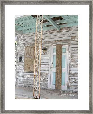 Framed Print featuring the photograph Closed by Arlene Carmel