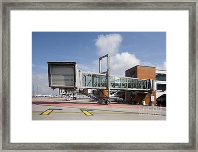 Closed Gate Bridge Framed Print