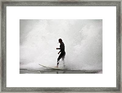 Closed Out Framed Print by Miguel Capelo