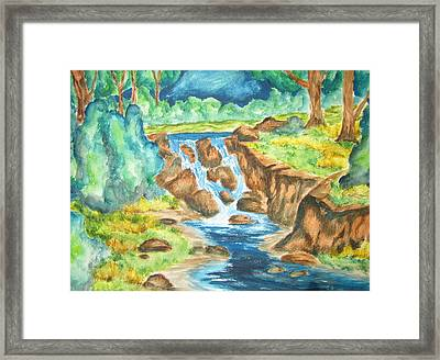 Closing Another Day Framed Print by Cheryl Pettigrew