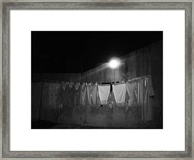 Framed Print featuring the photograph Clothes 2 by Beto Machado