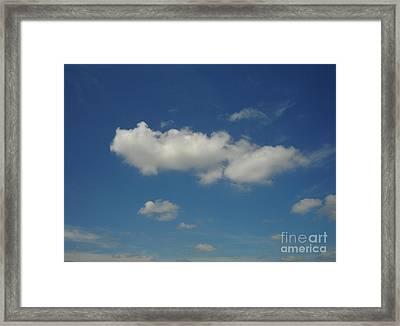 Cloud 004 Framed Print by Lyle Bonn