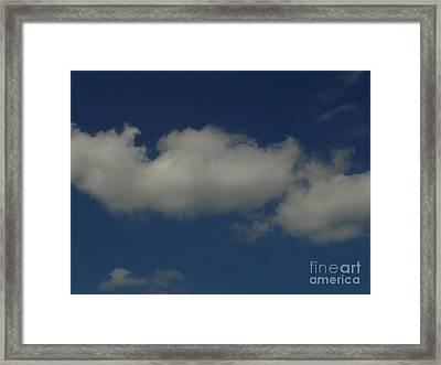 Cloud 005 Framed Print by Lyle Bonn