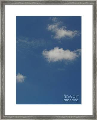 Cloud 007 Framed Print by Lyle Bonn