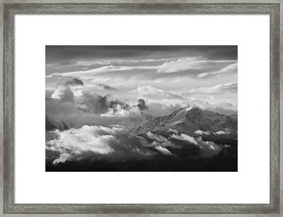 Cloud Art Framed Print