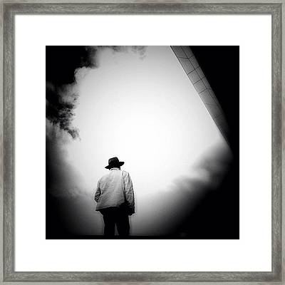 Cloud Cowboy - Concrete Jungle Framed Print