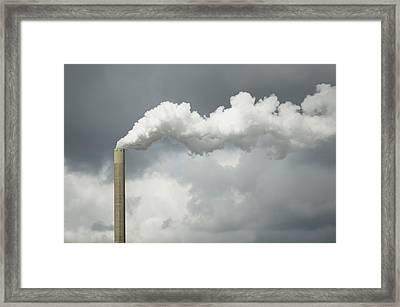 Cloud Factory Framed Print