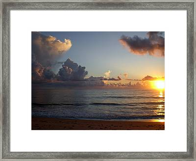 Cloud Menagerie Framed Print by Vincent Di Pasquo
