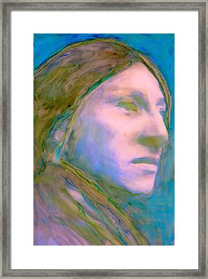 Cloud People Framed Print by FeatherStone Studio Julie A Miller