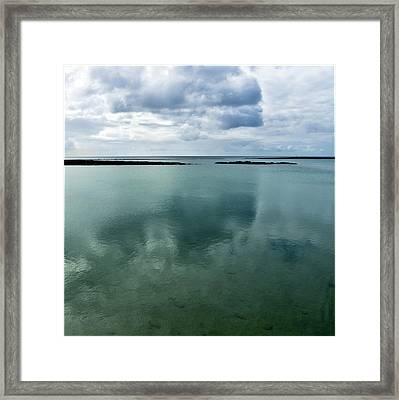 Cloud Reflections Framed Print by Kimberly Jansen Photography